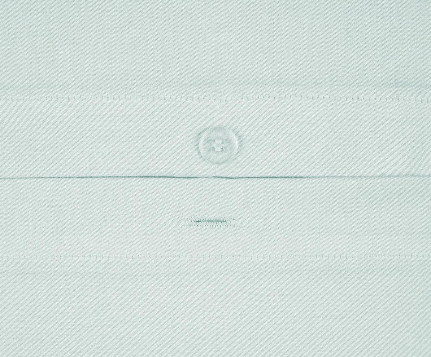Baumwollsatin-Bettwäsche Comfort in Hellgrün, Hellgrün, 240 x 220 cm