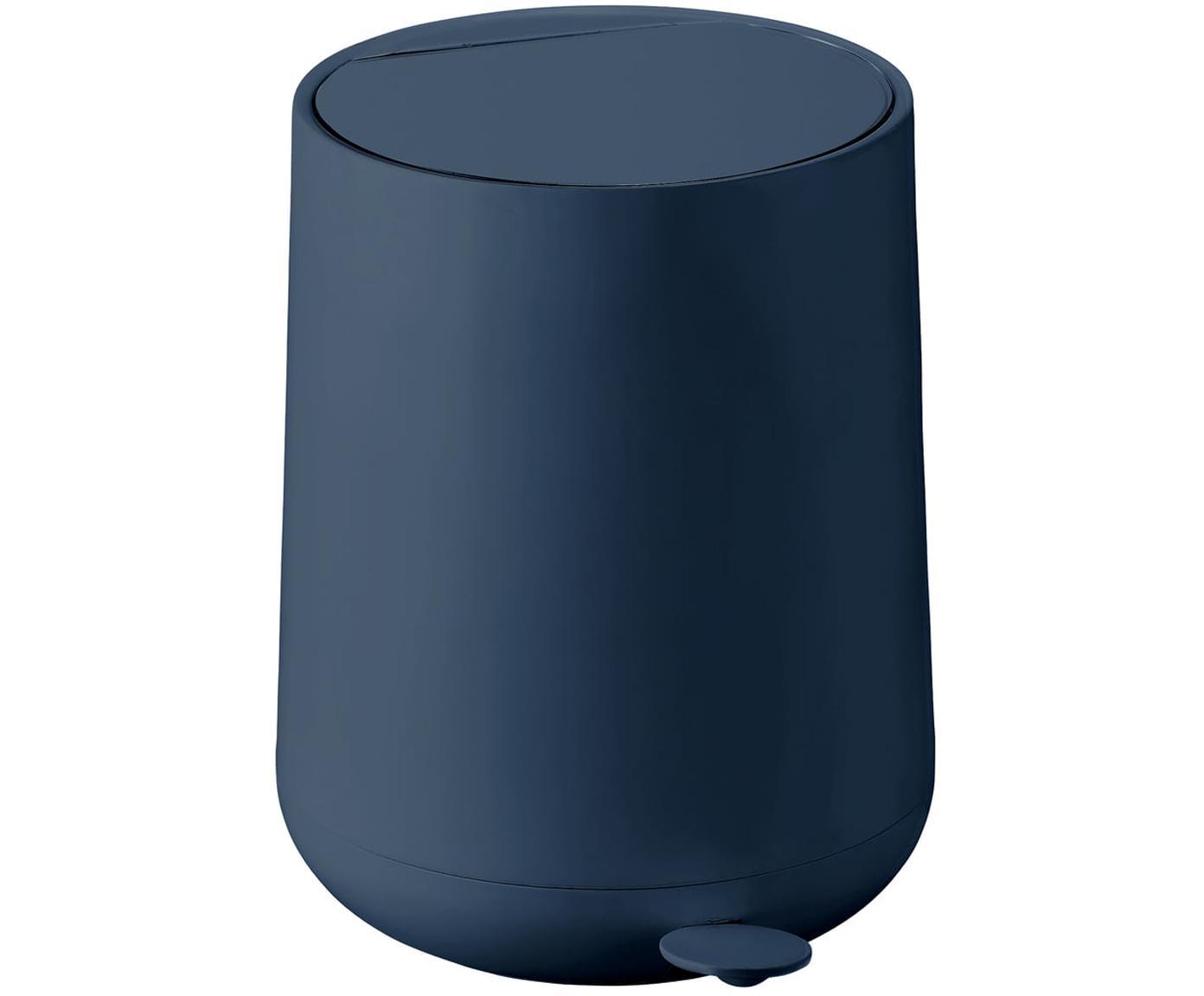 Afvalemmer Nova, ABS kunststof, Royal blue, Ø 23 x H 29 cm