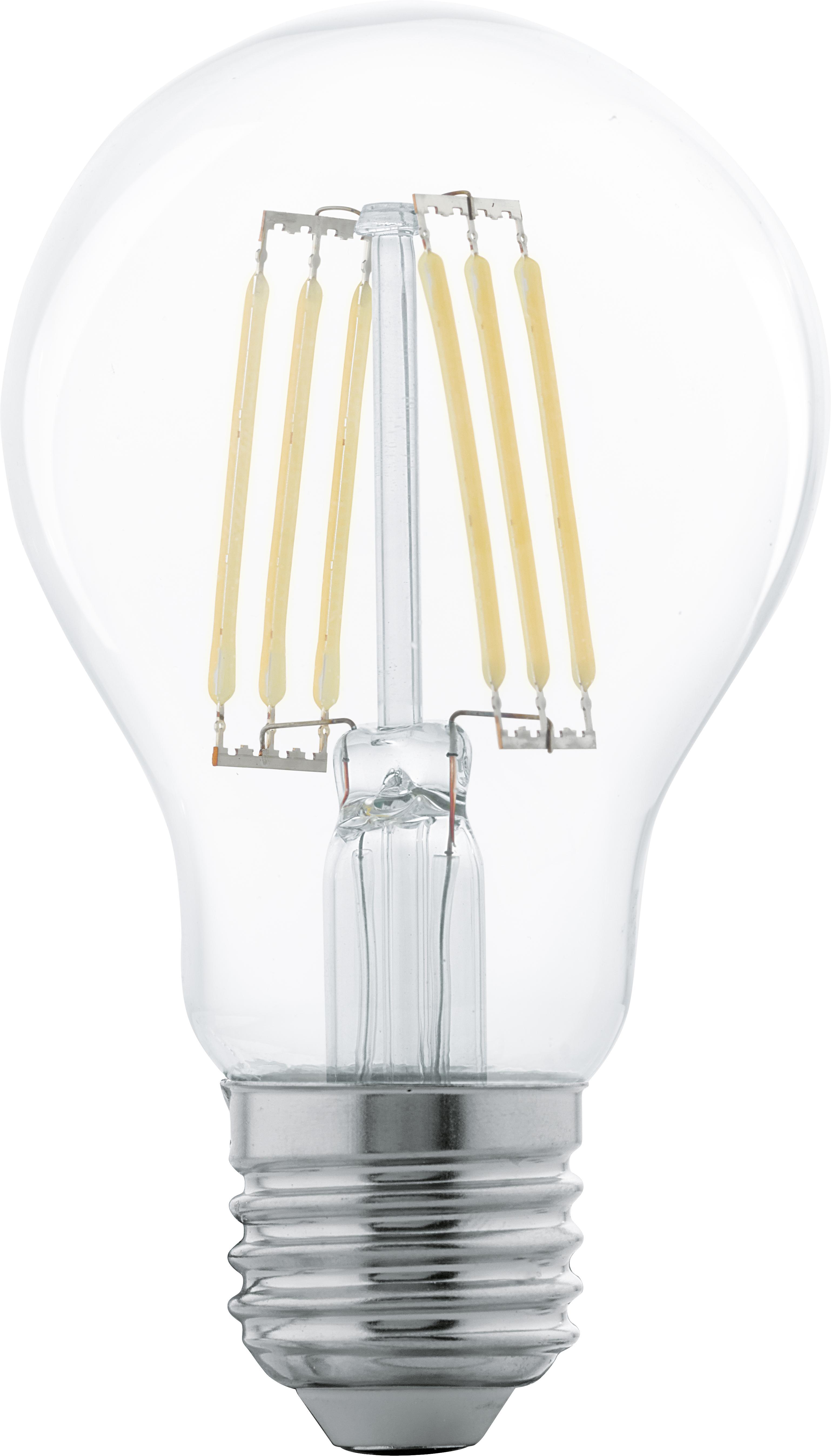 Lampadina a LED Cord (E27 / 6Watt) 5 pz, Lampadina: vetro, Trasparente, Ø 6 x Alt. 10 cm