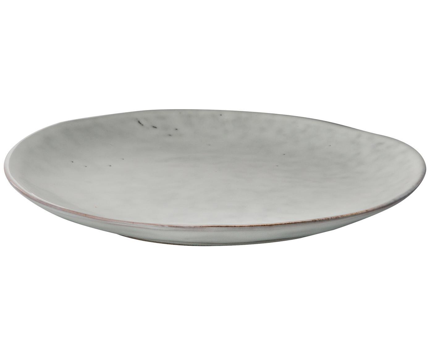 Ręcznie wykonany komplet naczyń śniadaniowych Nordic Sand, 12 elem., Kamionka, Beżowy, Różne rozmiary