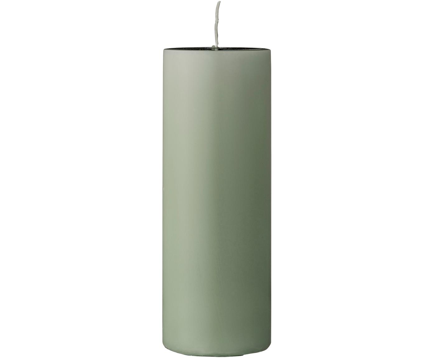 Candela profumata Lulu, Cera, Verde chiaro, Ø 7 x Alt. 20 cm