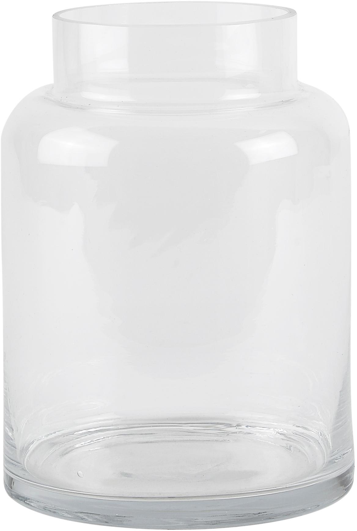 Glas-Vase Lanti, Glas, Transparent, Ø 15 x H 20 cm
