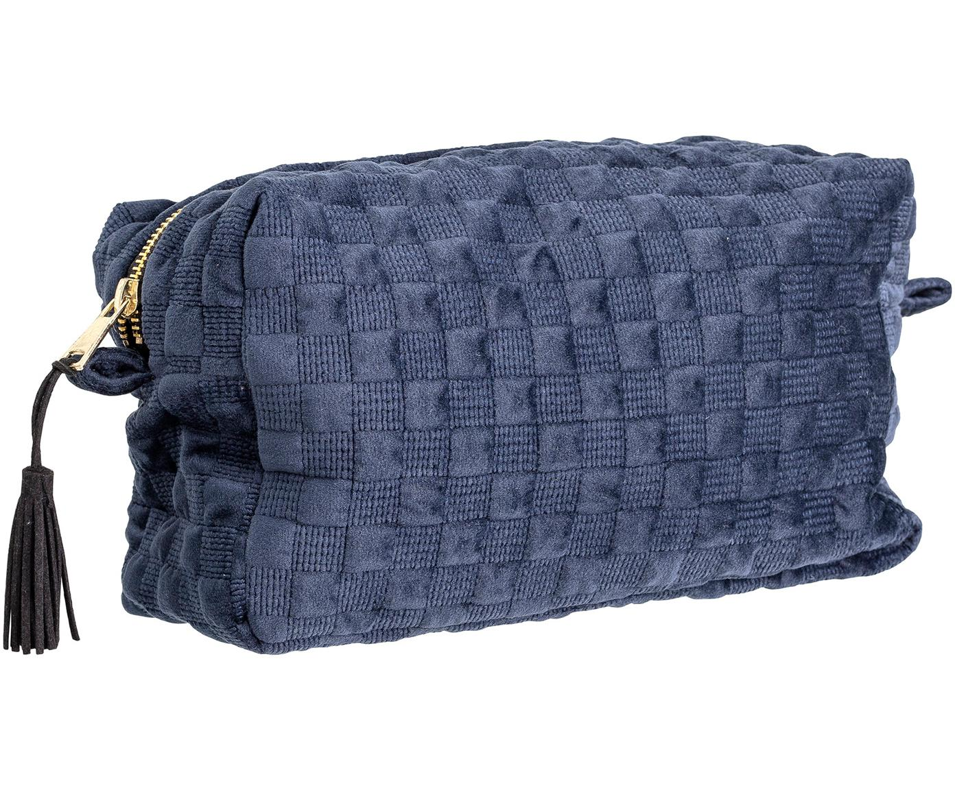 Kosmetiktasche Redo, Polyester, Blau, 25 x 15 cm