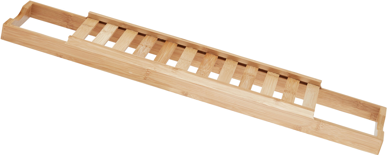 Badplank Thubi van bamboehout, Bamboehout, Bamboehoutkleurig, 15 x 70 cm