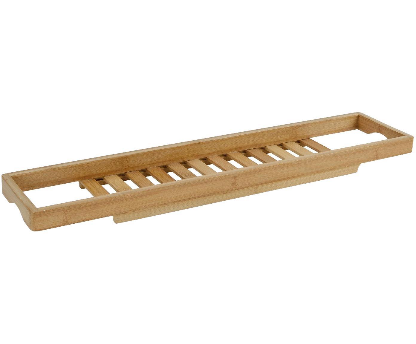 Mensola per vasca in bambù Thubi, Bambù, Bambù, Larg. 15 x Lung. 70 cm