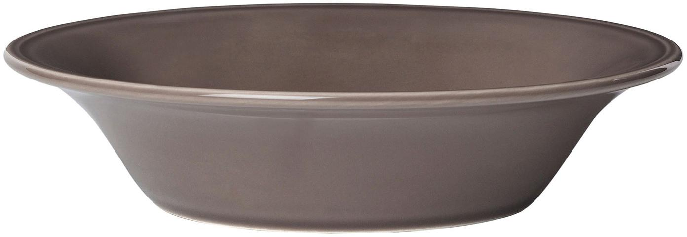 Boles Constance, 2uds., estilo rústico, Cerámica, Marrón, Ø 19 x Al 5 cm