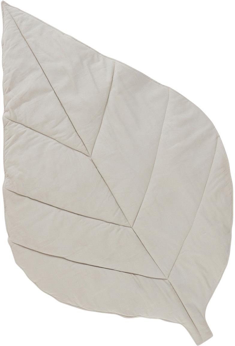 Tappeto da gioco Keaton, Rivestimento: 100% cotone bio, Beige, Larg. 100 x Lung. 165 cm