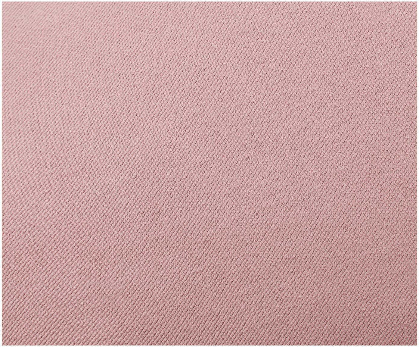 Poduszka z aksamitu Shell, Tapicerka: 100% aksamit poliestrowy, Brudny różowy, S 28 x D 30 cm
