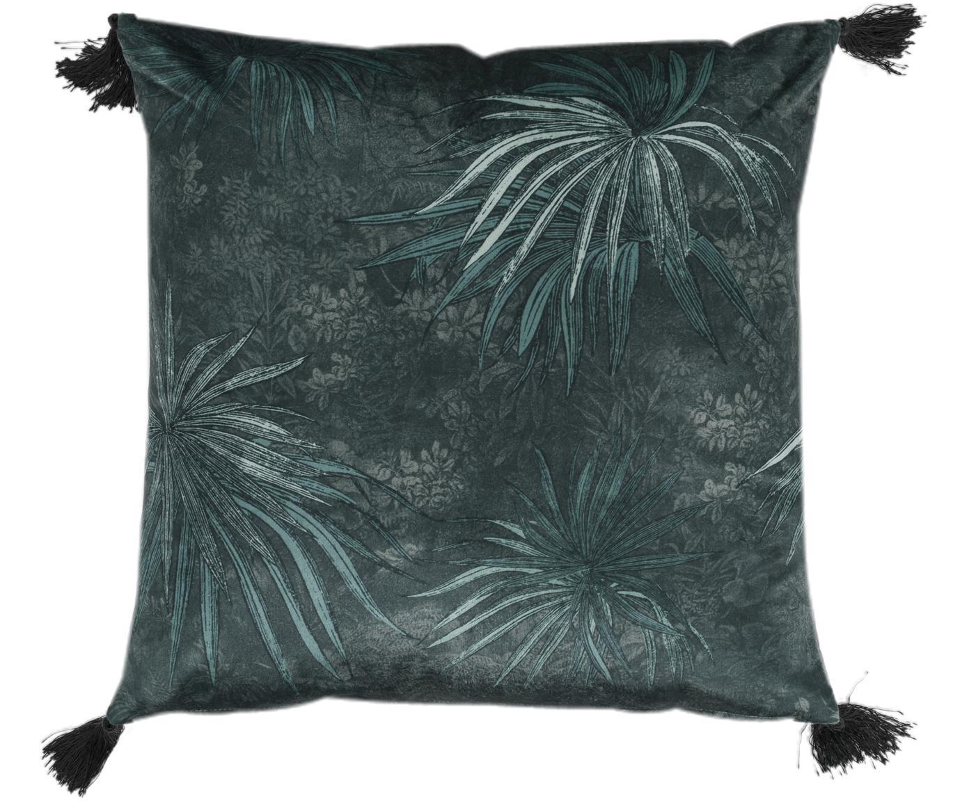 Poszewka na poduszkę Jangala, Niebieski, S 50 x D 50 cm