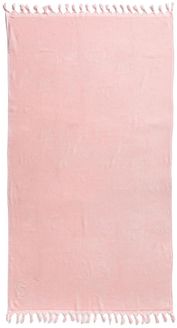 Hamamtuch Lushie, 100% Baumwolle mittelschwere Stoffqualität, 355g/m², Puderrosa, 100 x 180 cm
