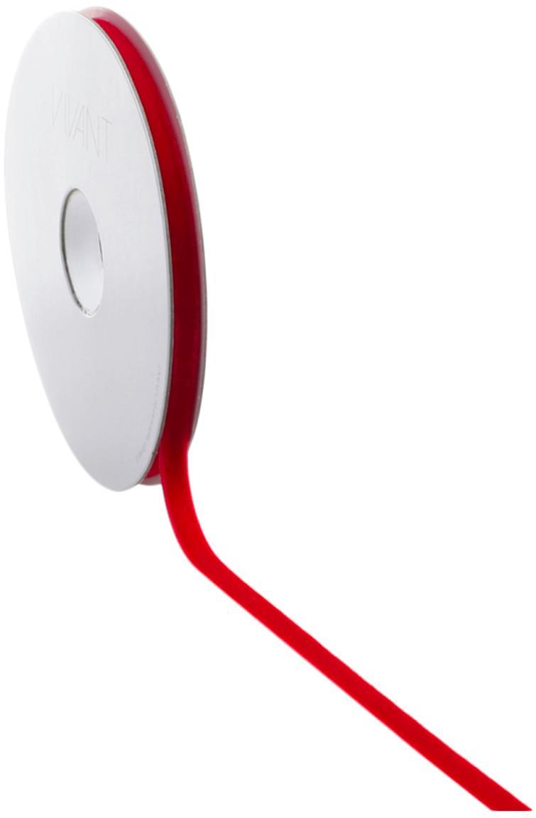 Geschenkband Vivianne, Nylon, Rot, 1 x 700 cm