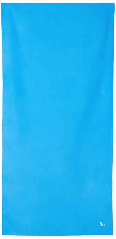 Toalla de playa de microfibras Classic, Microfibra (80%poliéster, 20%poliamida), Azul, An 90 x L 200 cm