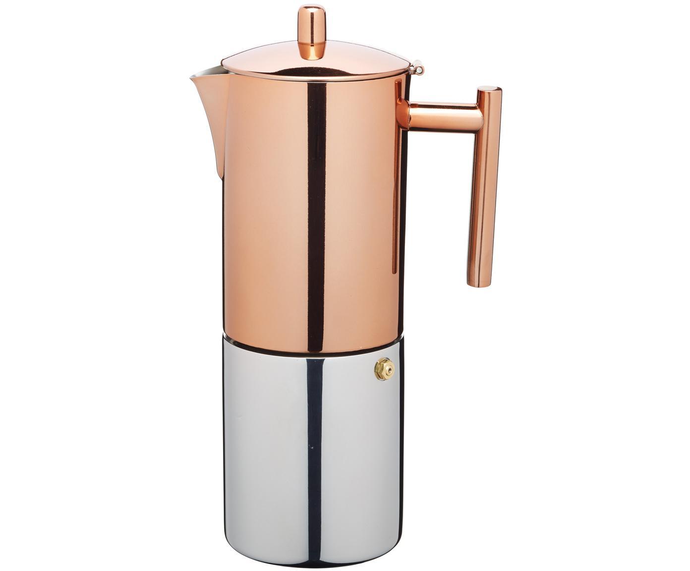 Macchinetta per il caffè Molly, Parte inferiore: acciaio inossidabile, luc, Rame, acciaio inossidabile, 600 ml