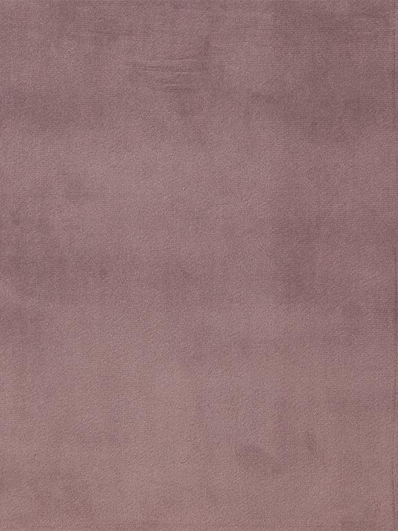 Divano 2 posti in velluto rosa cipria Ria, Rivestimento: poliestere (velluto), Piedini: legno di caucciù, vernici, Velluto rosa cipria, Larg. 150 x Prof. 84 cm