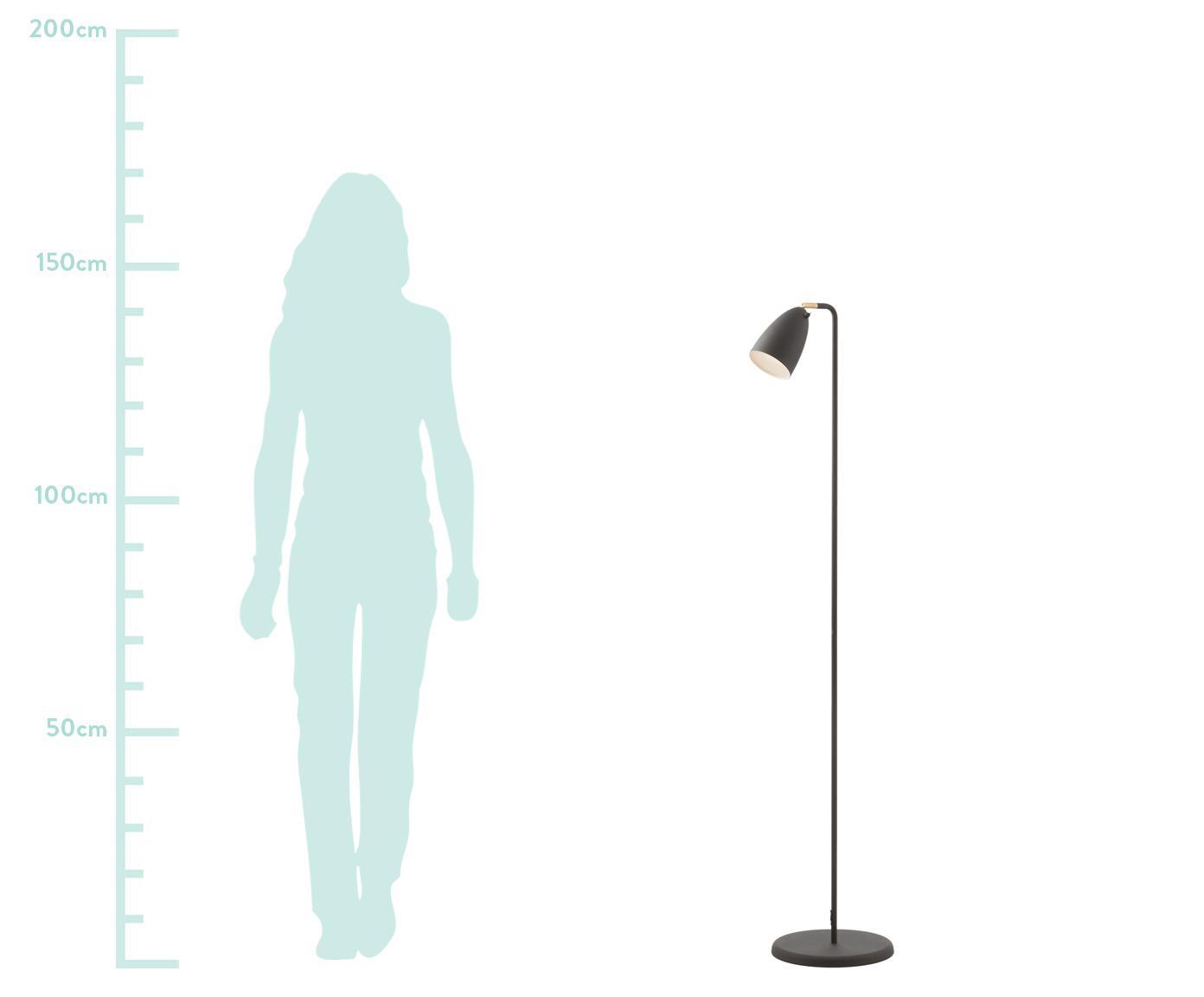 Lampa podłogowa LED Nexus 10, Czarny, Ø 26 x W 142 cm