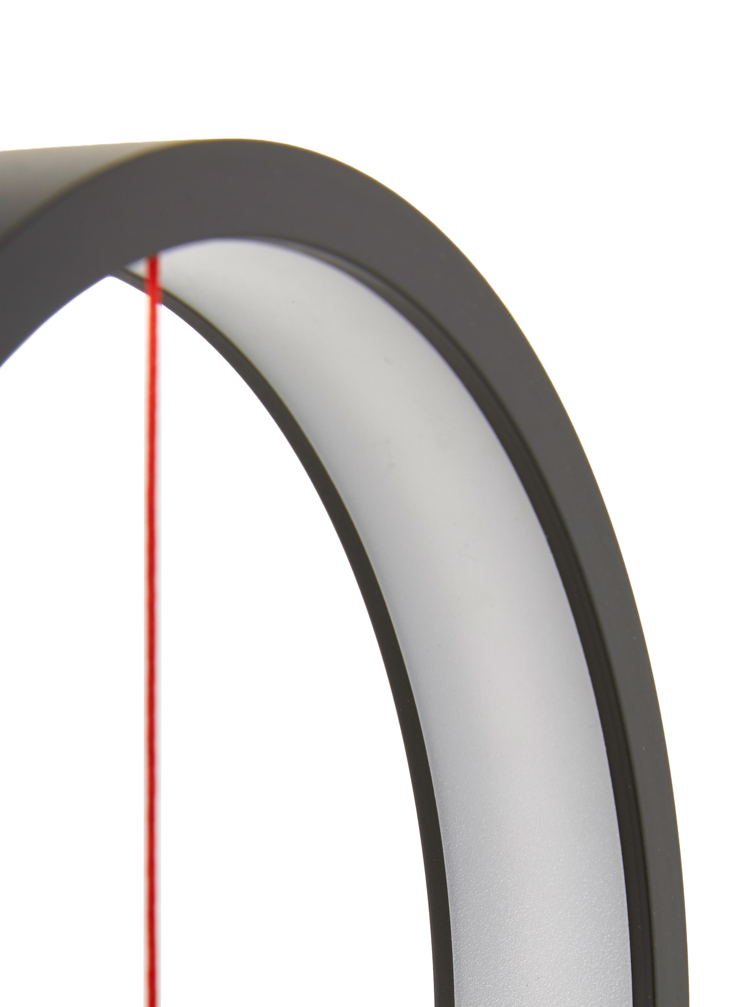 Moderne LED Tischlampe Heng, Weiß, 20 x 40 cm