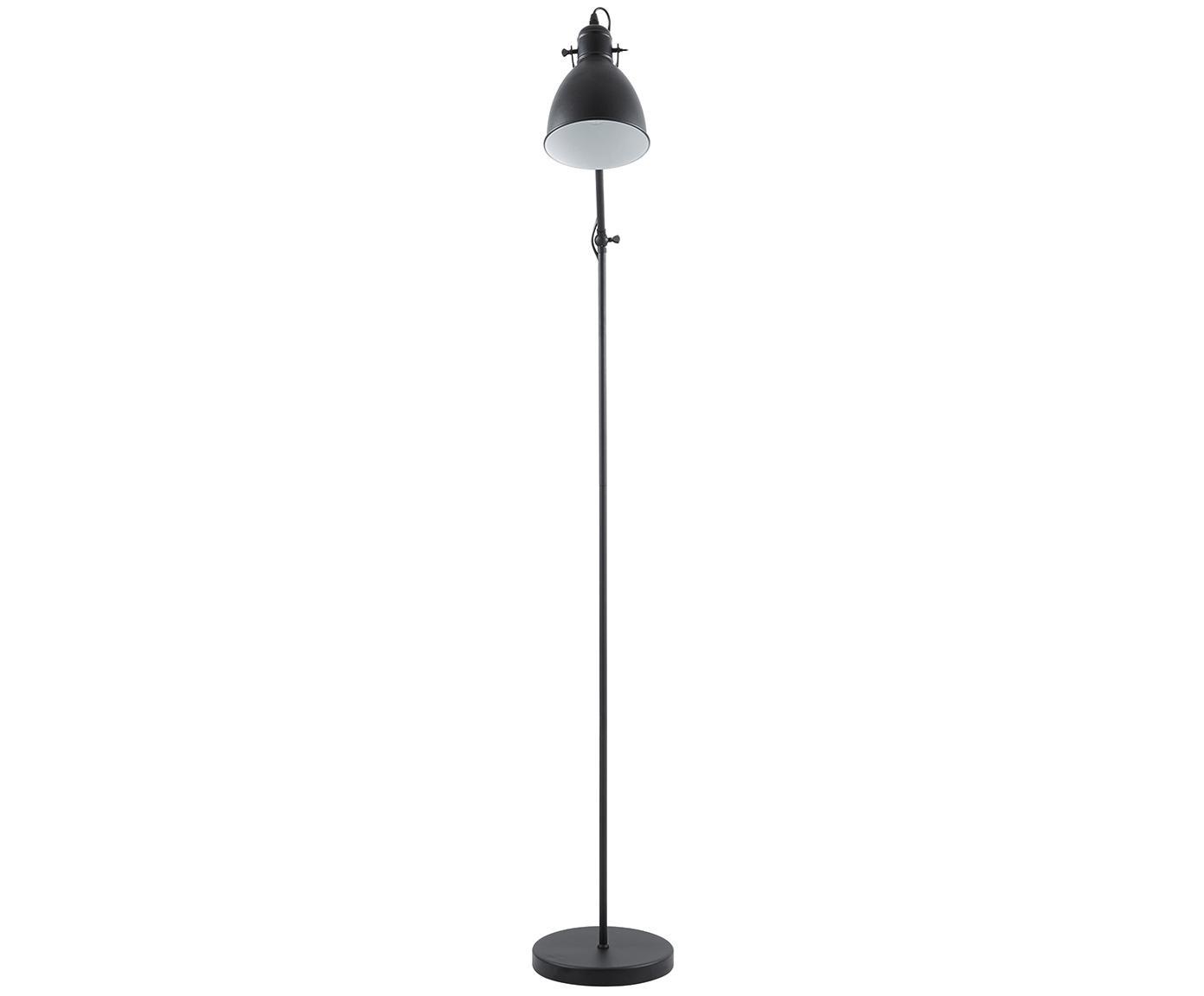 Lampa podłogowa Ethan, Czarny, ∅ 15 x W 137 cm