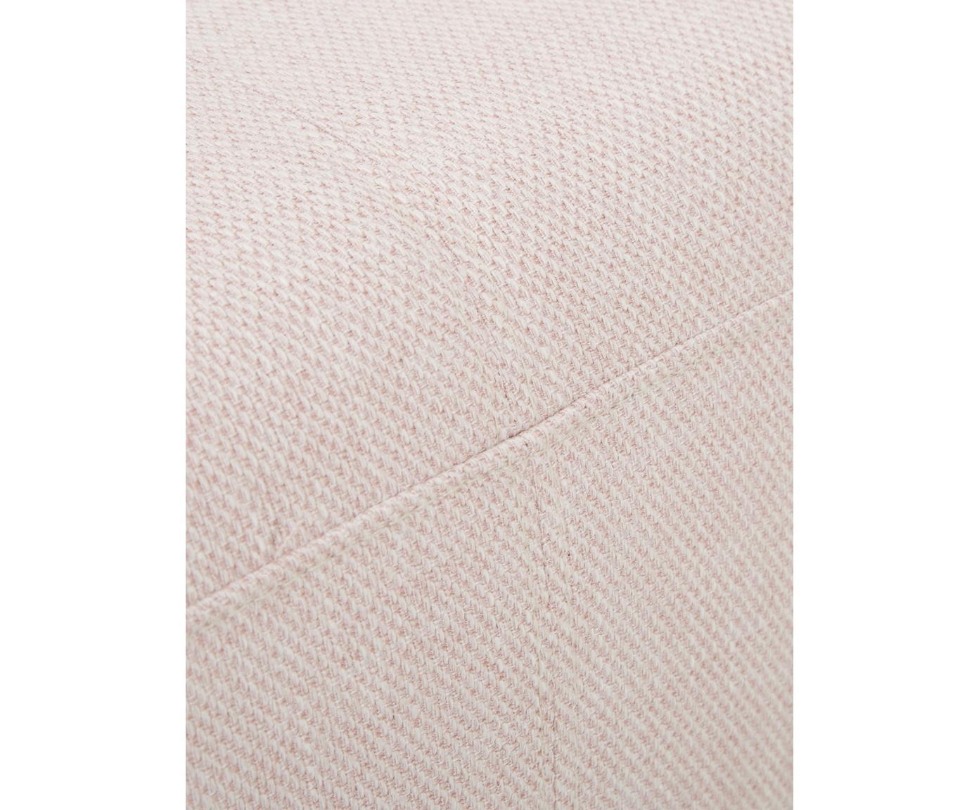 Sofa Ramira (2-Sitzer), Bezug: Polyester 40.000 Scheuert, Gestell: Massives Kiefernholz, Spe, Füße: Metall, pulverbeschichtet, Webstoff Rosa, 151 x 79 cm