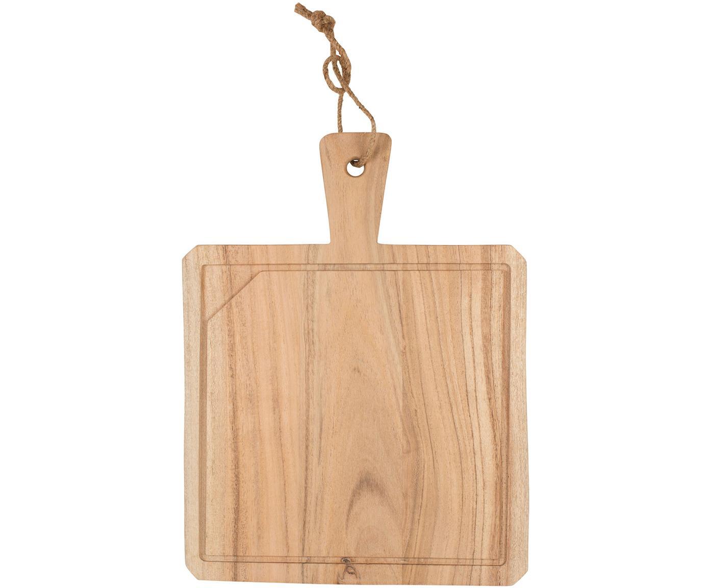 Deska do krojenia Albert, Drewno akacjowe, Drewno akacjowe, S 40 x G 30 cm