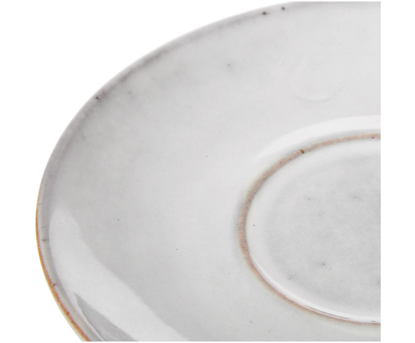 Handgemaakt kopje Nordic Sand, Keramiek, Zandkleurig, Ø 11 x H 5 cm