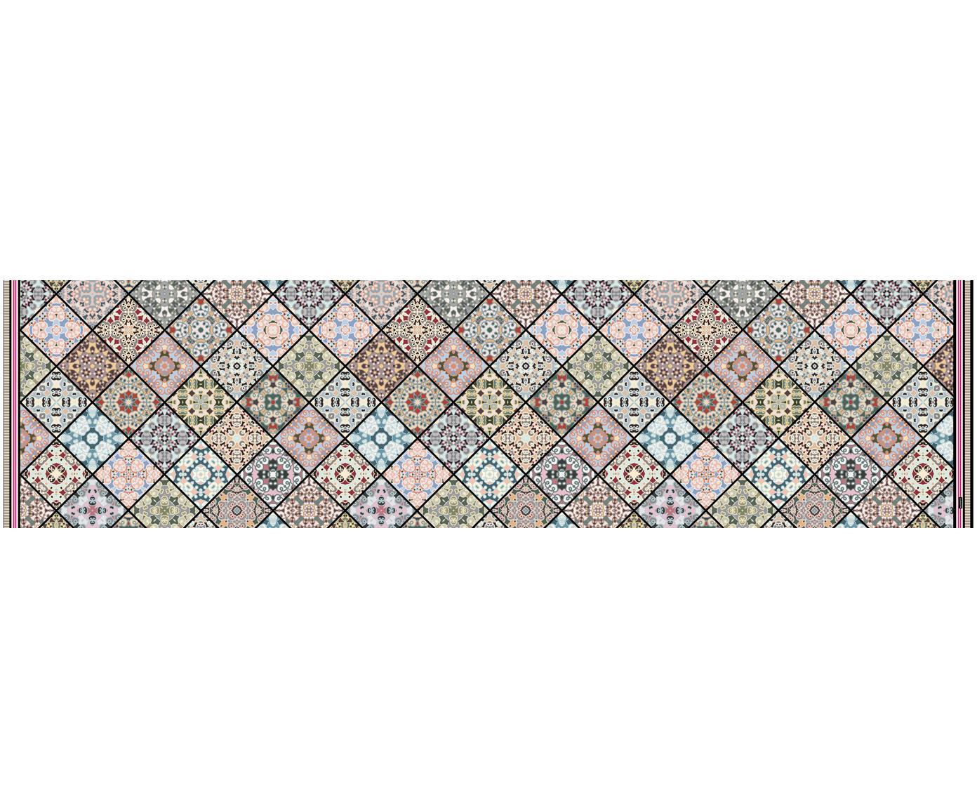 Vinyl-Bodenmatte Aylin, Vinyl, recycelbar, Mehrfarbig, 65 x 255 cm