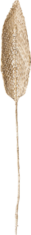 Pieza decorativa Planta de Praia, Hojas de plátano, trenzadas, Beige, An 15 x Al 80 cm