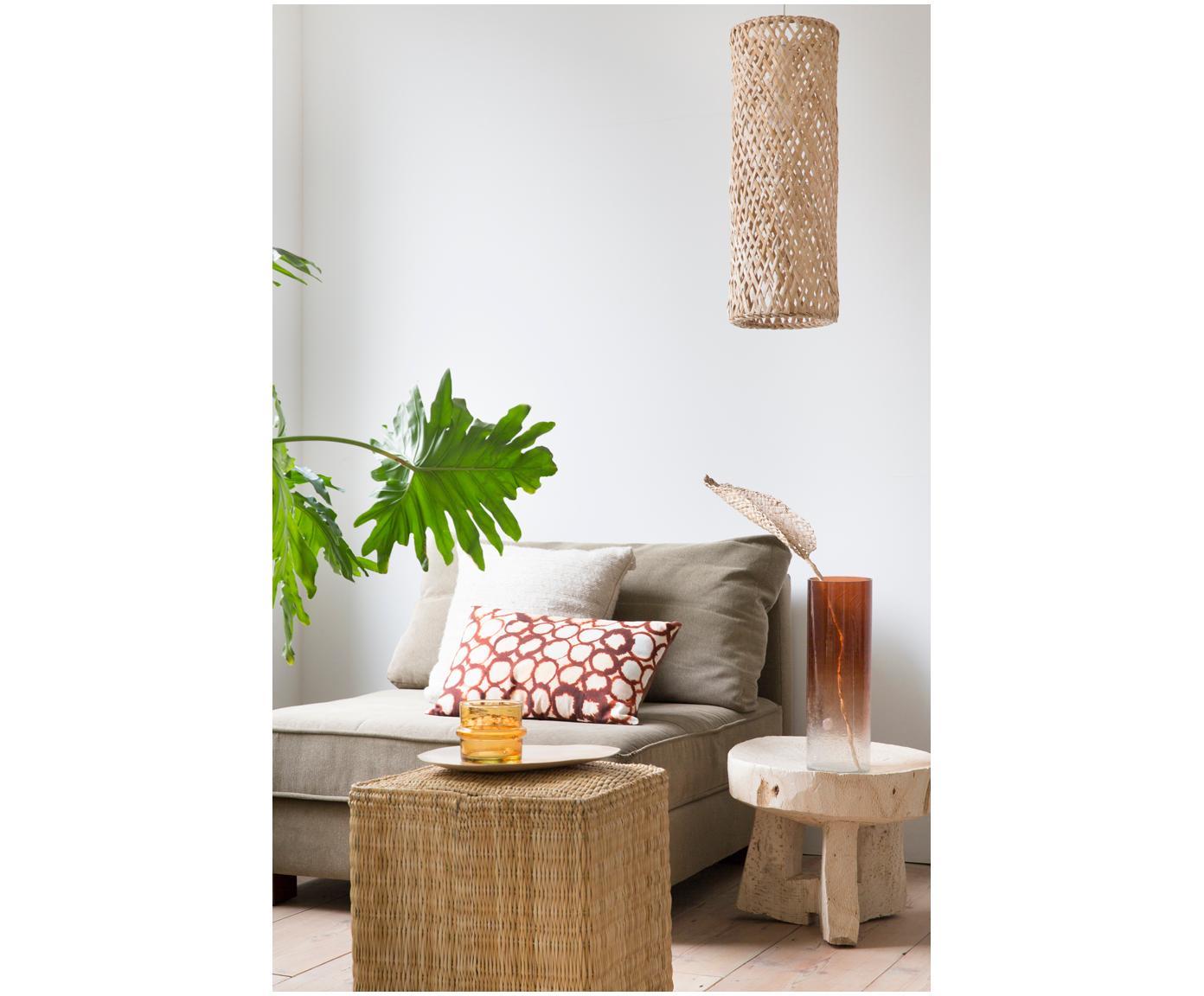 Dekoracja Planta de Praia, Liście bananowca, plecione, Beżowy, S 15 x W 80 cm