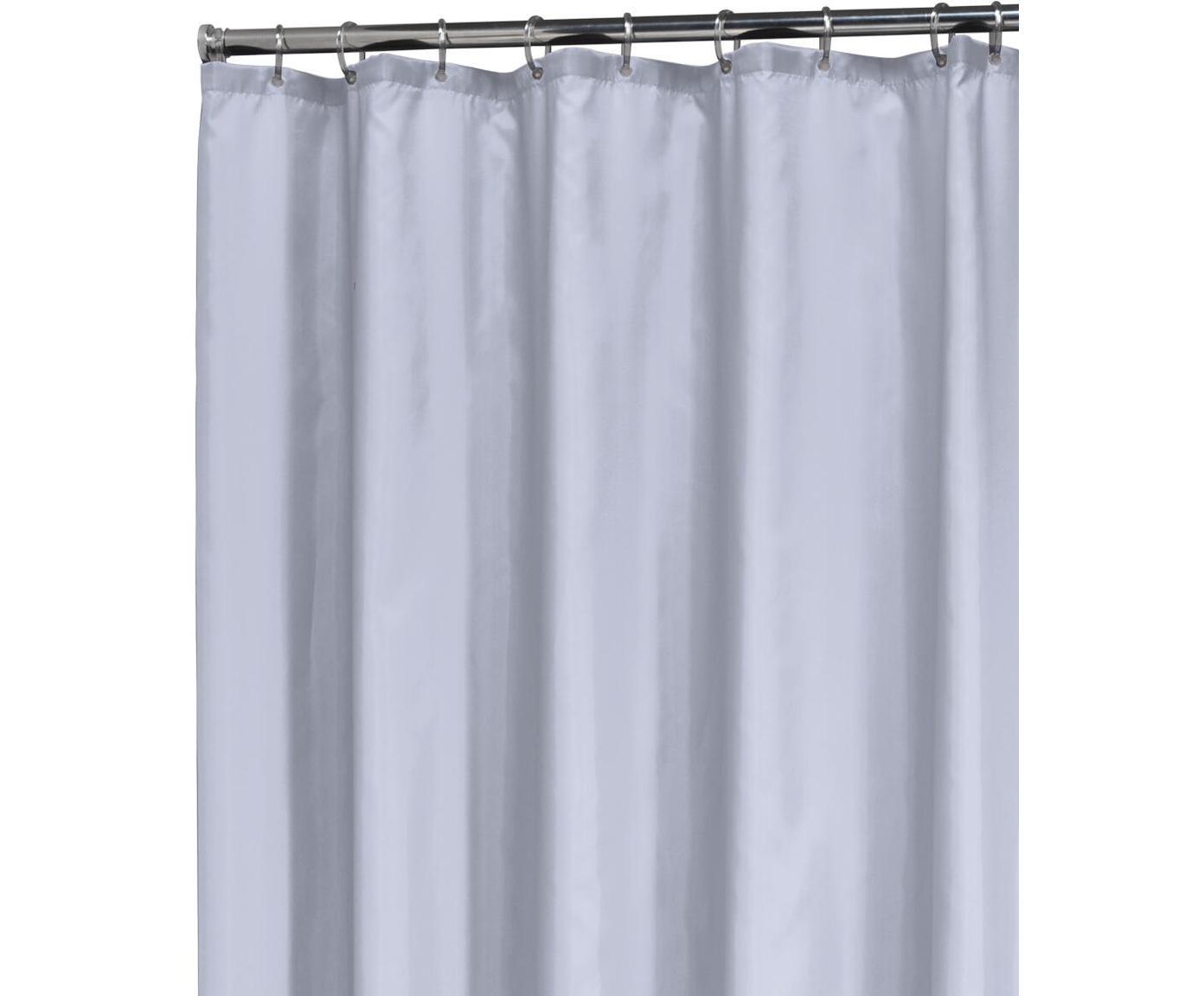 Zasłona prysznicowa Granada, Pastelowo niebieski, S 180 x D 200 cm