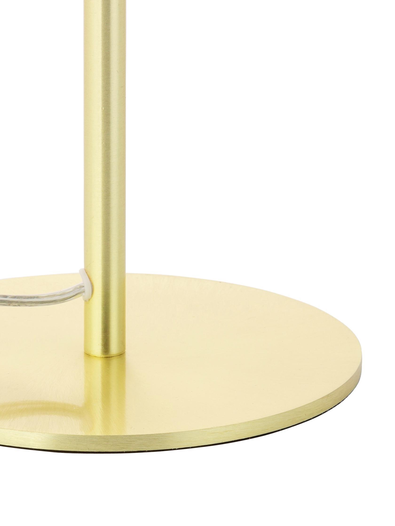 Lampa stołowa Matilda, Mosiądz, Ø 29 x W 45 cm