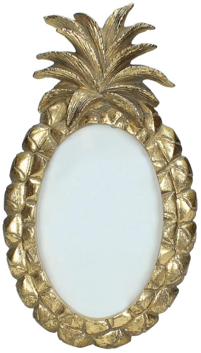 Bilderrahmen Tropic, Rahmen: Polyresin (Kunststoff), Front: Glas, Goldfarben, 10 x 15 cm