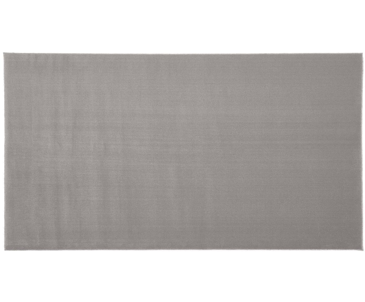 Wollteppich Ida in Grau, Flor: Wolle, Grau, B 60 x L 110 cm (Grösse XS)