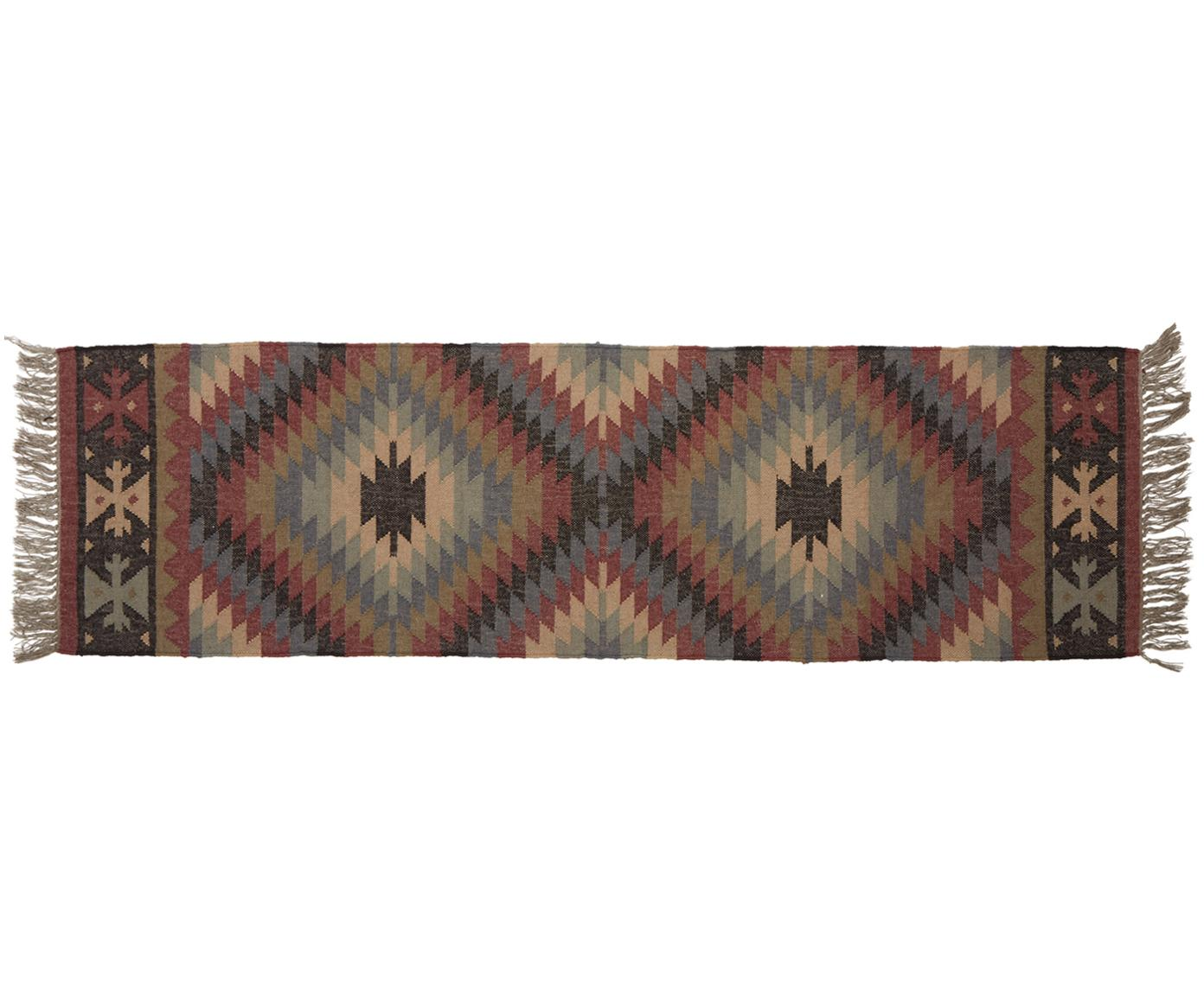 Tapis de couloir Kellias, Multicolore