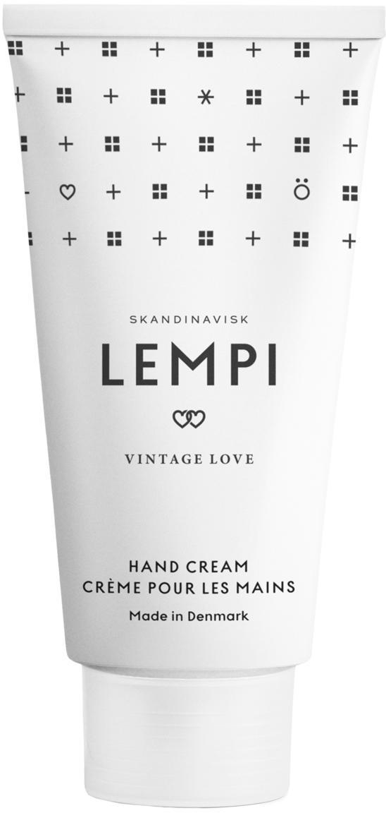 Handcreme Lempi (Rose), Behälter: Kunststoff, Weiss, 75 ml