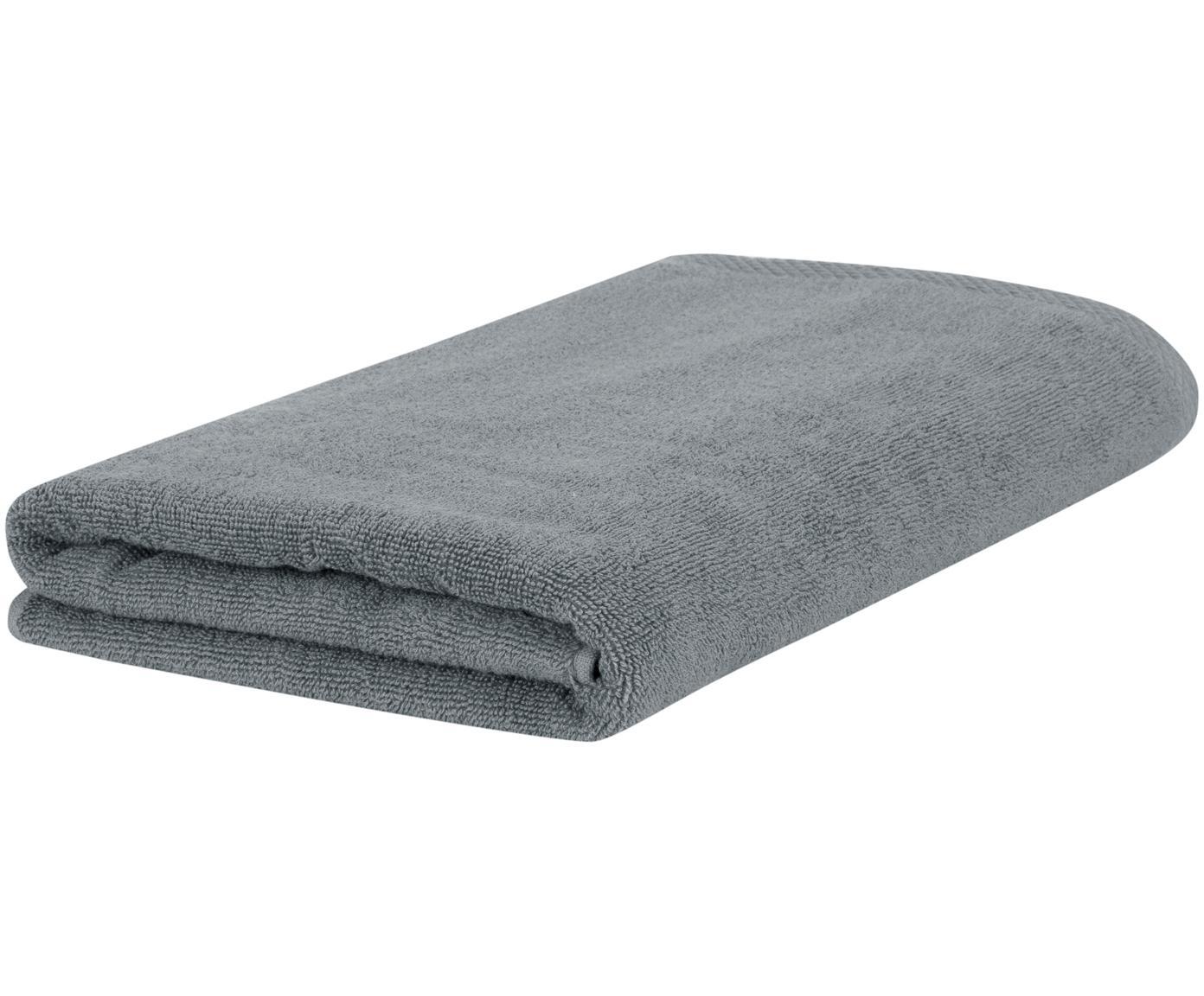 Einfarbiges Handtuch Comfort, Dunkelgrau, Gästehandtuch