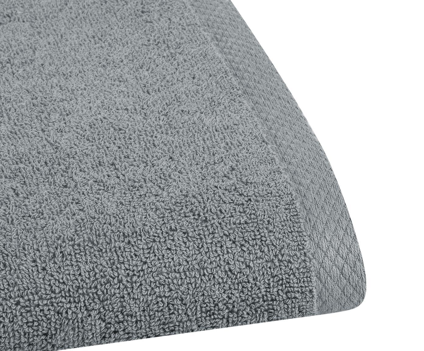 Einfarbiges Handtuch Comfort, verschiedene Grössen, Dunkelgrau, Gästehandtuch
