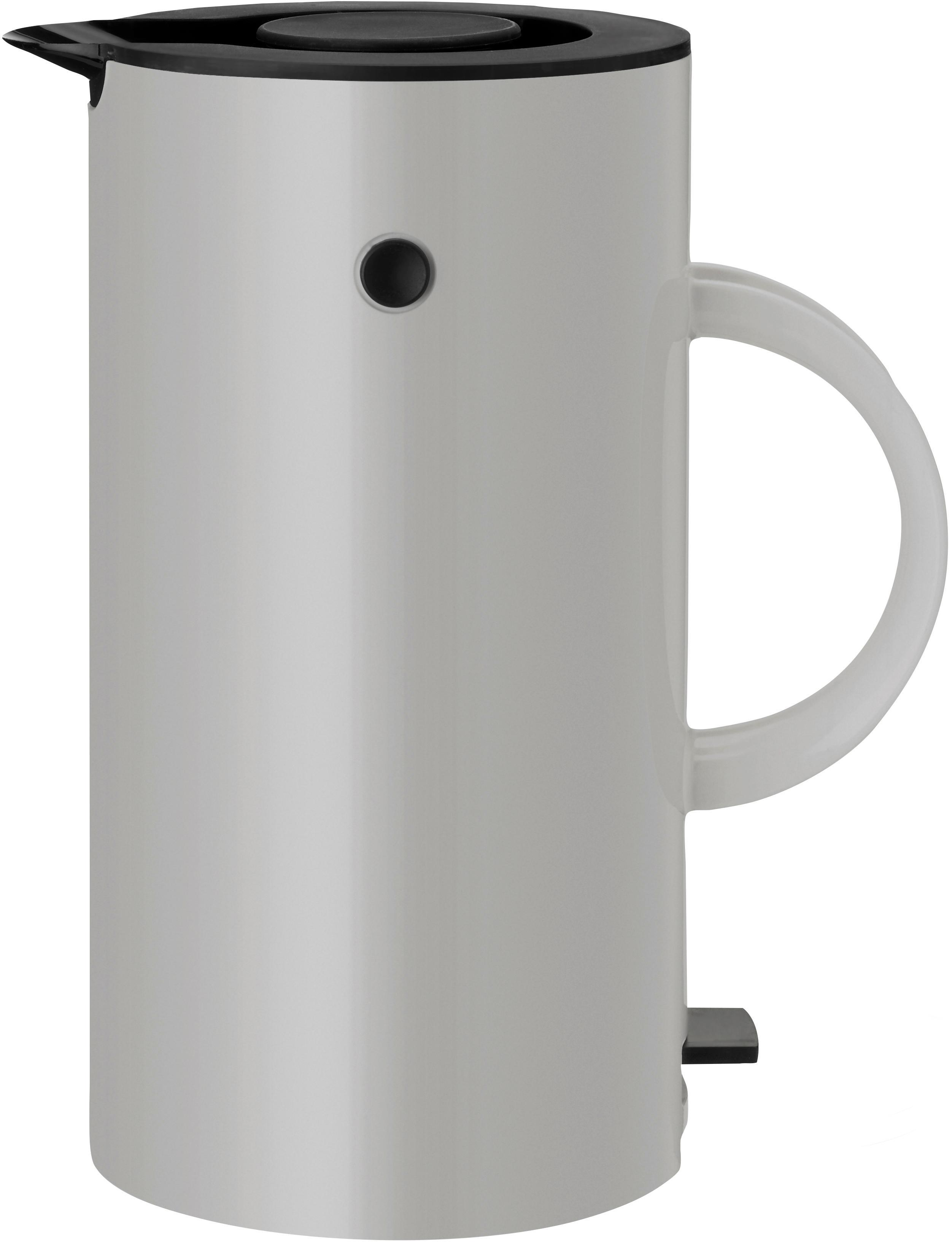 Waterkoker EM77, Lichtgrijs, zwart, Ø 13 x H 25 cm