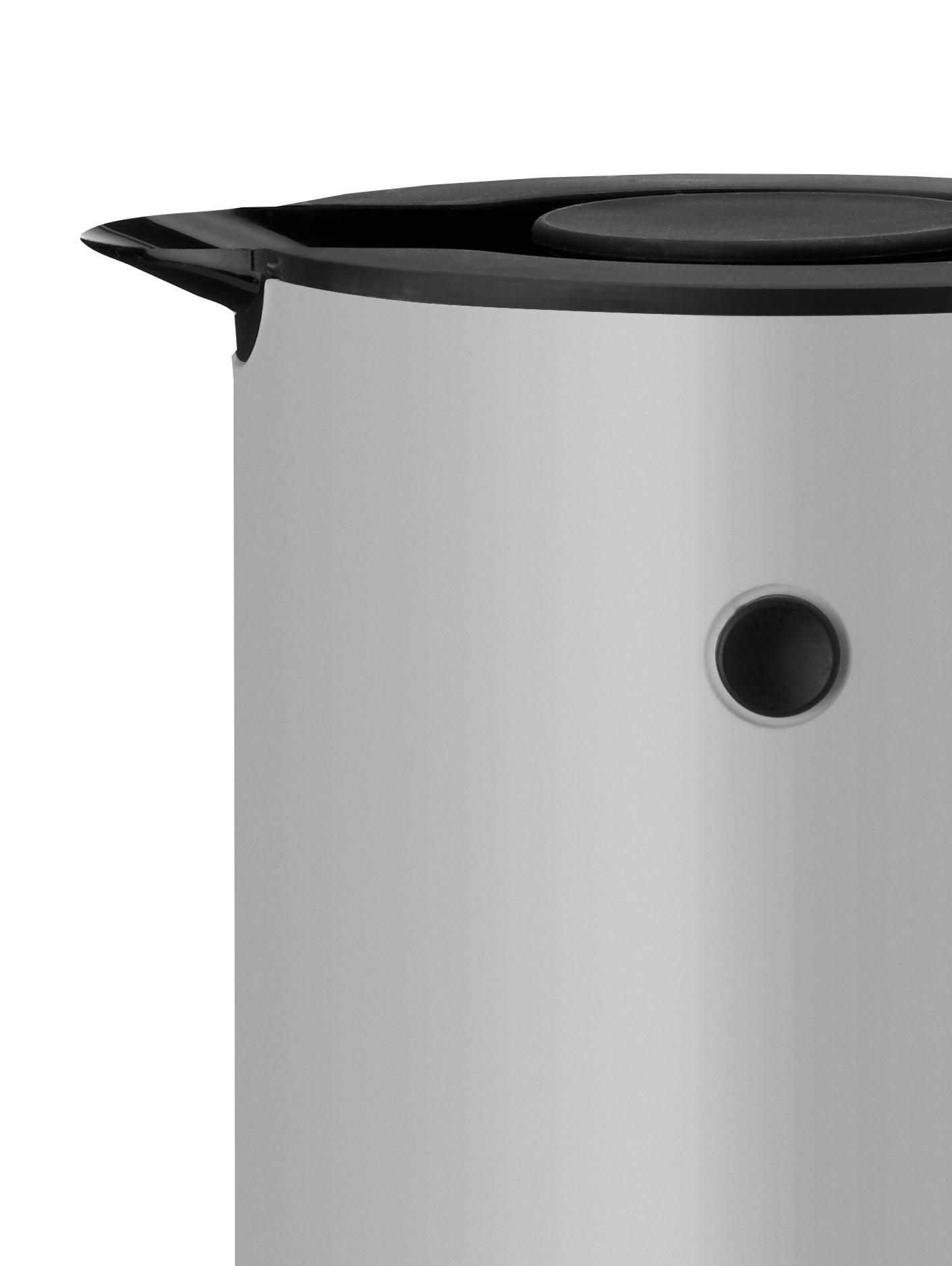 Czajnik elektryczny EM77, Jasny szary, czarny, Ø 13 x W 25 cm