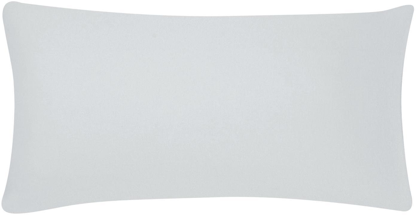 Flanell-Kissenbezüge Biba in Hellgrau, 2 Stück, Webart: Flanell Flanell ist ein s, Hellgrau, 40 x 80 cm