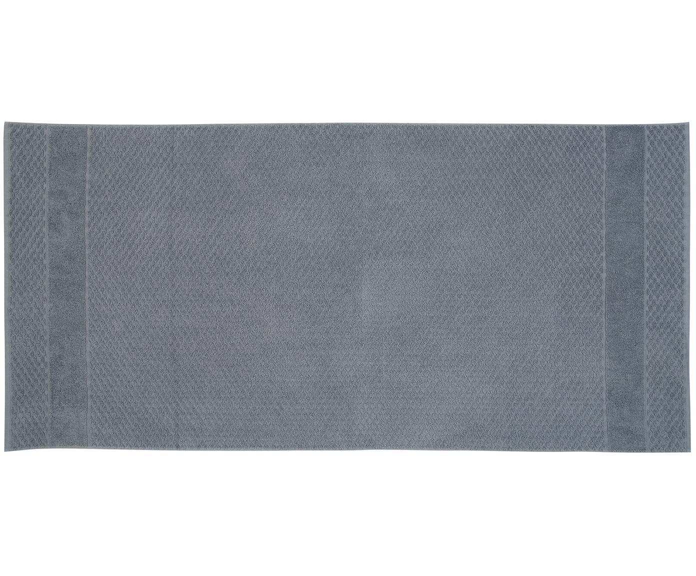 Komplet ręczników Katharina, 3 elem., Bawełna Średnia gramatura, 500g/m², Ciemnyszary, Różne rozmiary