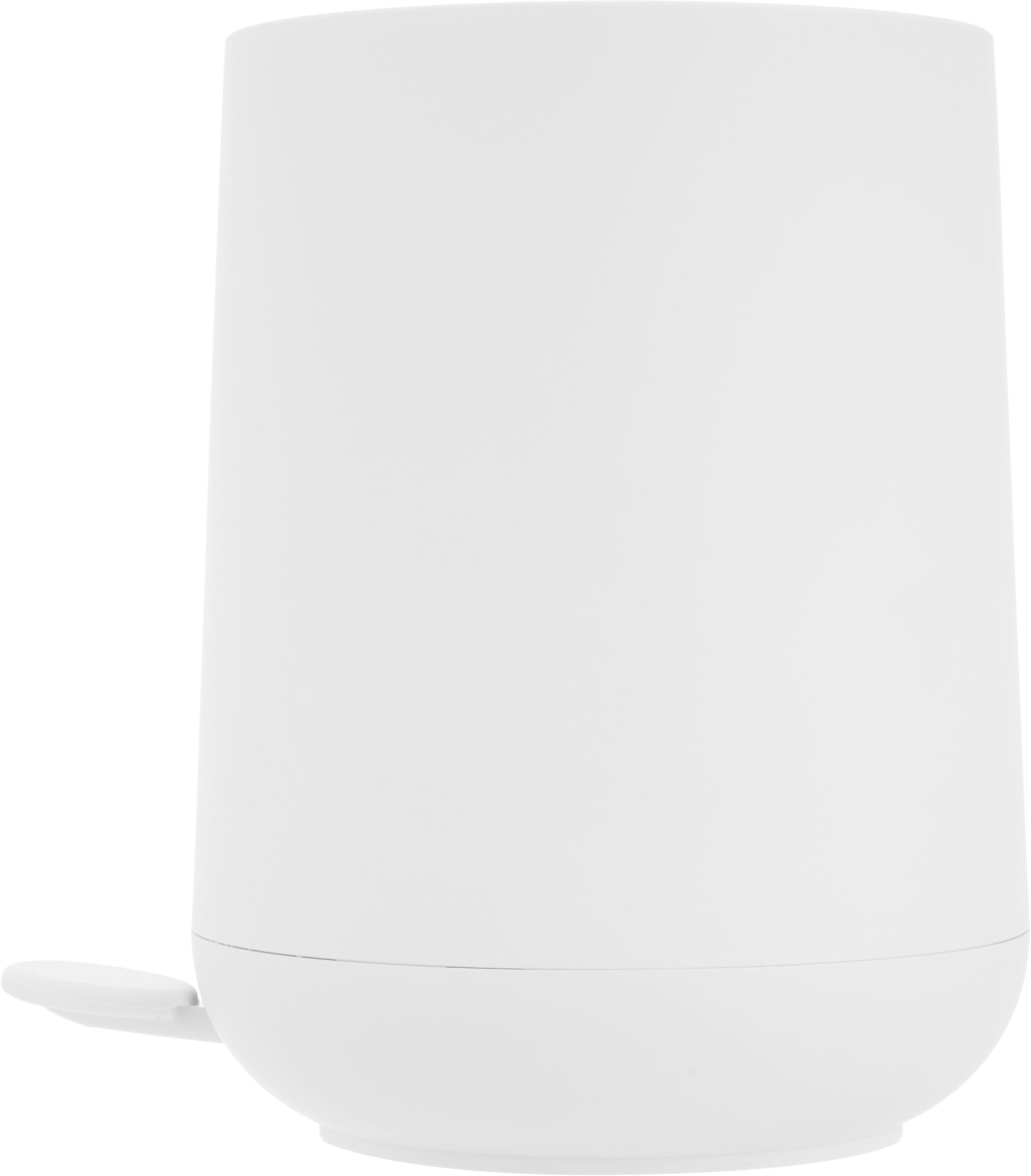 Papelera Nova, Plástico ABS, Blanco, Ø 23 x Al 29 cm