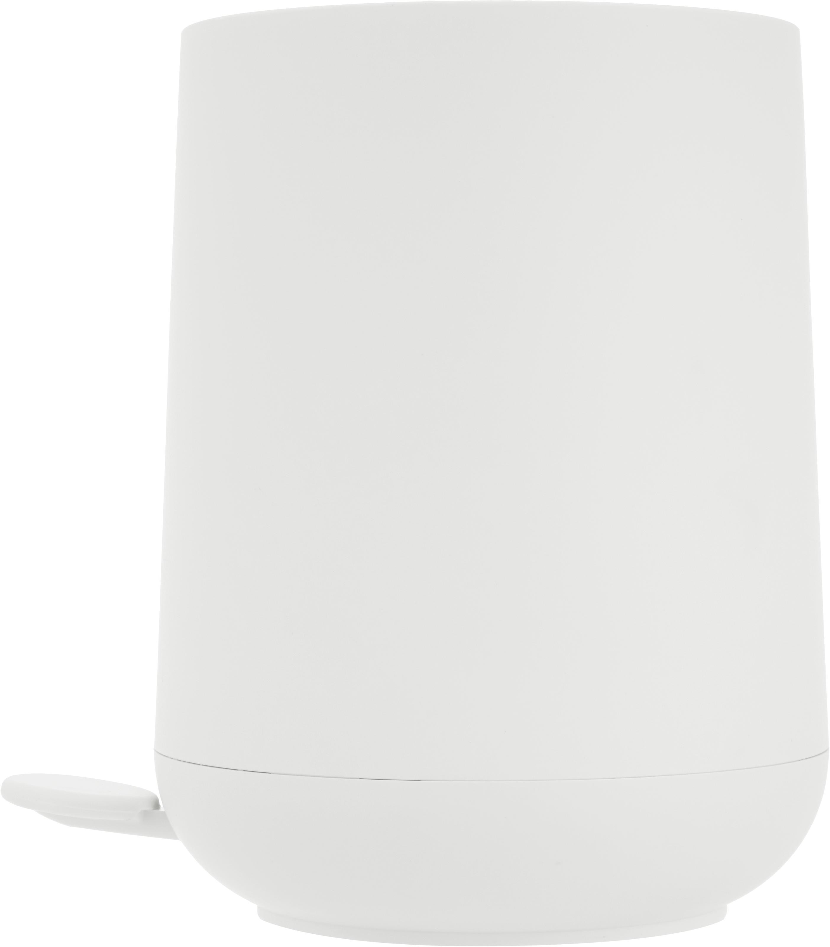 Pattumiera Nova, Materiale sintetico ABS, Bianco, Ø 23 x A 29 cm