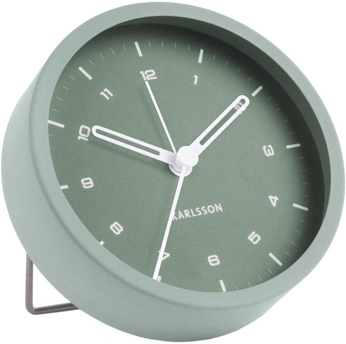 Despertador Tinge, Acero, pintado, Verde, Ø 9 x F 3 cm
