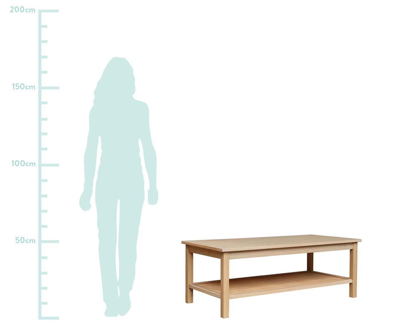 Mesa de centro Blis, Marrón, An 120 x Al 46 cm