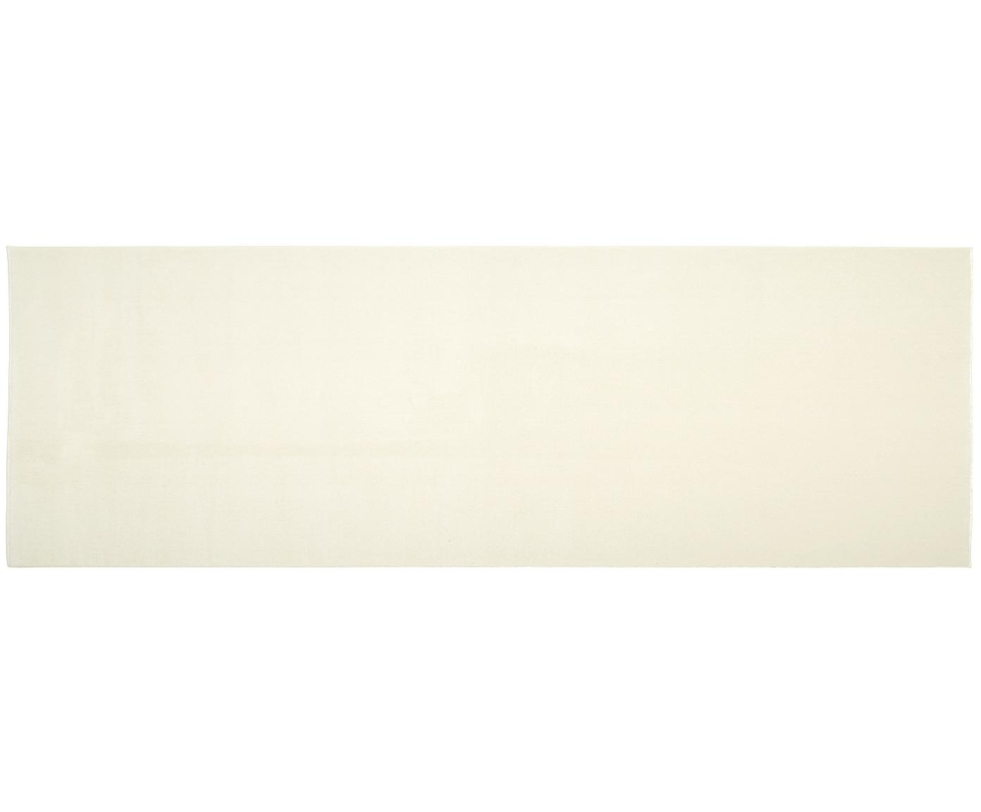 Wollläufer Ida in Beige, Flor: Wolle, Beige, 80 x 250 cm
