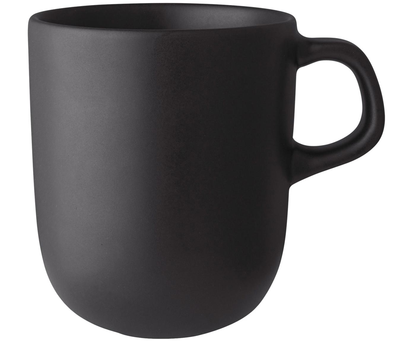 Tazze Nordic Kitchen, 4 pz., Terracotta, Nero opaco, 300 ml