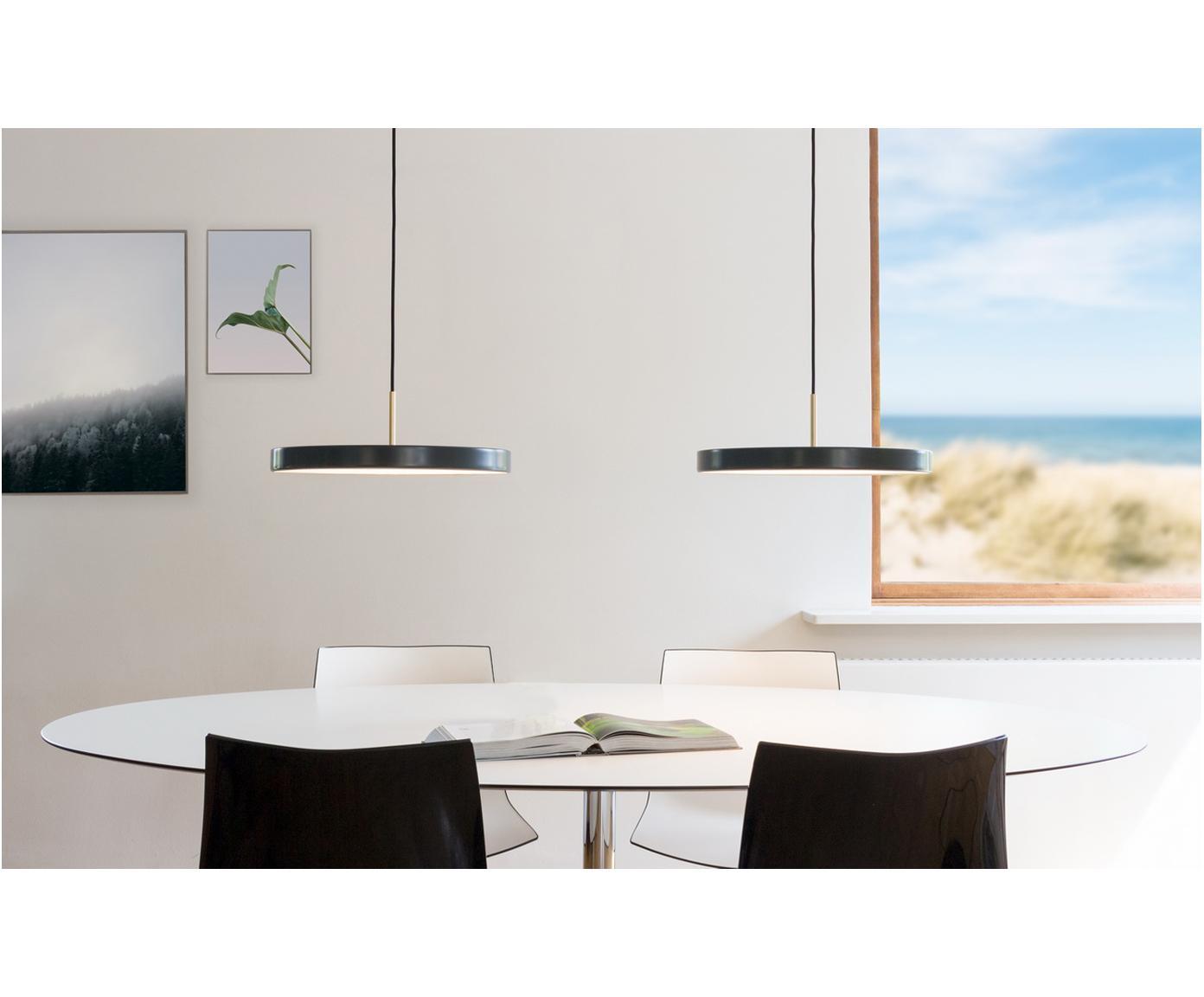 Lampa wisząca LED  Asteria, Antracytowy, Ø 43 x W 15 cm