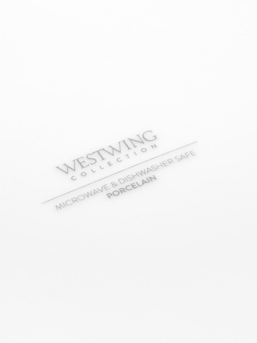 Porzellan-Speiseteller Delight Modern in Weiß, 2 Stück, Porzellan, Weiß, Ø 27 cm