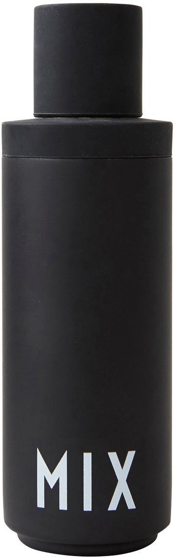 Cocktail shaker Mix, Esterno: nero opaco, bianco Interno: acciaio inossidabile, Ø 7 x Alt. 23 cm