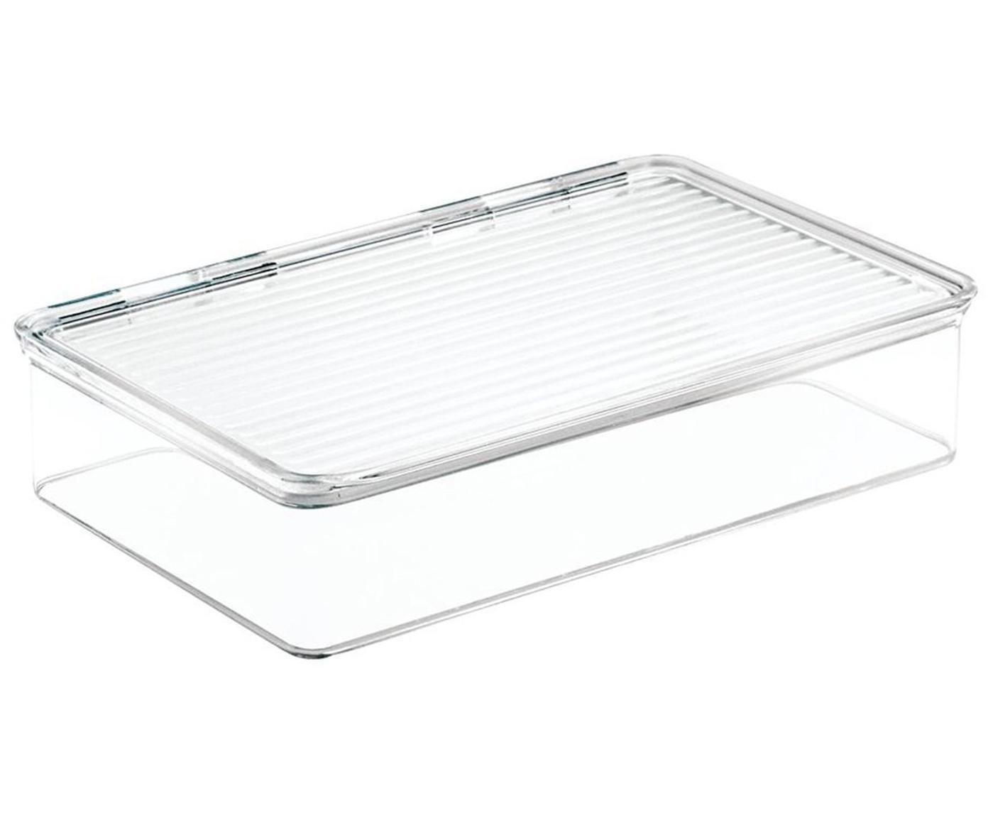 Caja apilable Binz, Plástico, Transparente, An 21 x F 26 cm