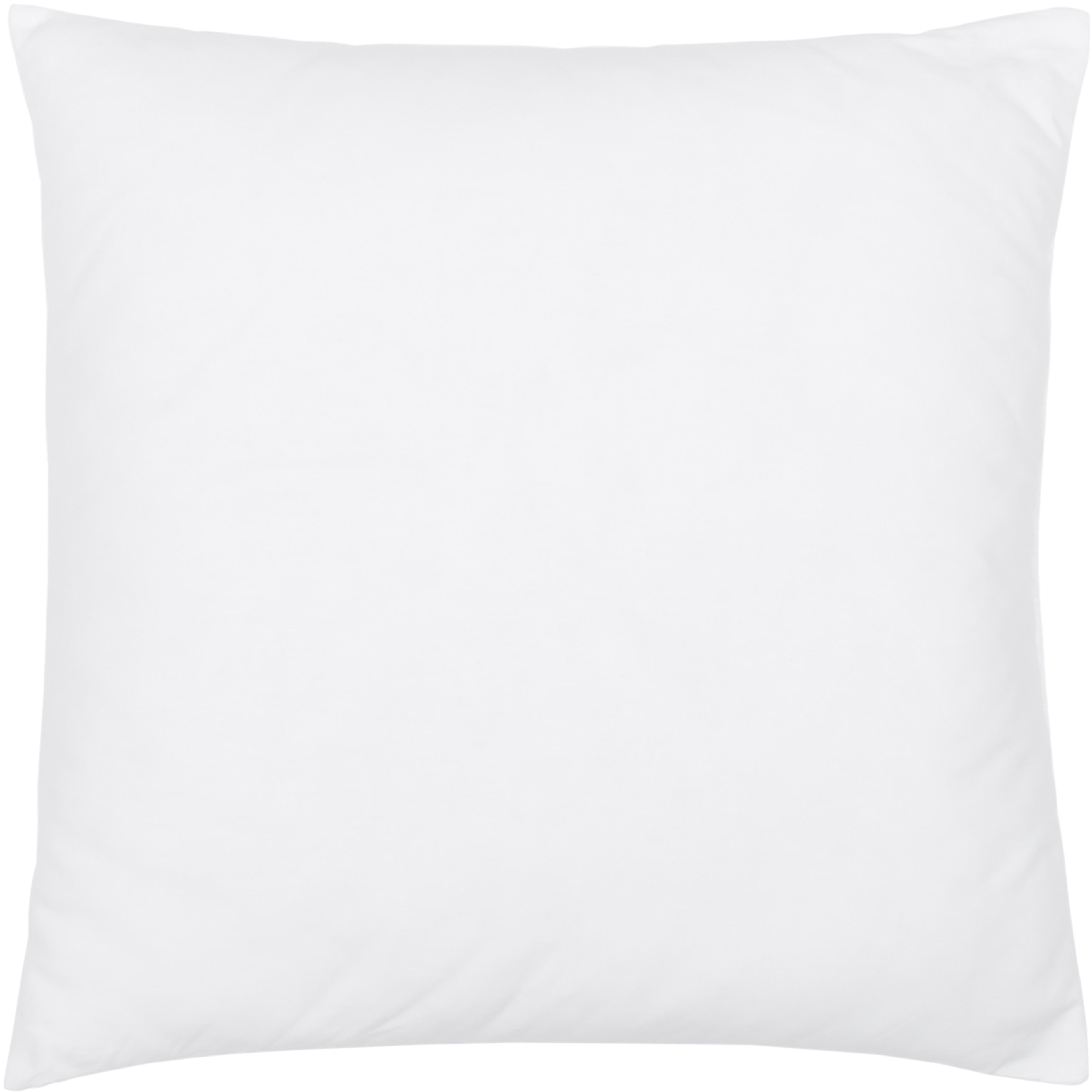 Relleno de cojín de microfibras Sia, 60x60cm, Funda: 100%algodón, Blanco, An 60 x L 60 cm
